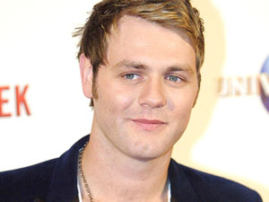 Brian McFadden at the Australian premiere of 'Get Him to the Greek'
