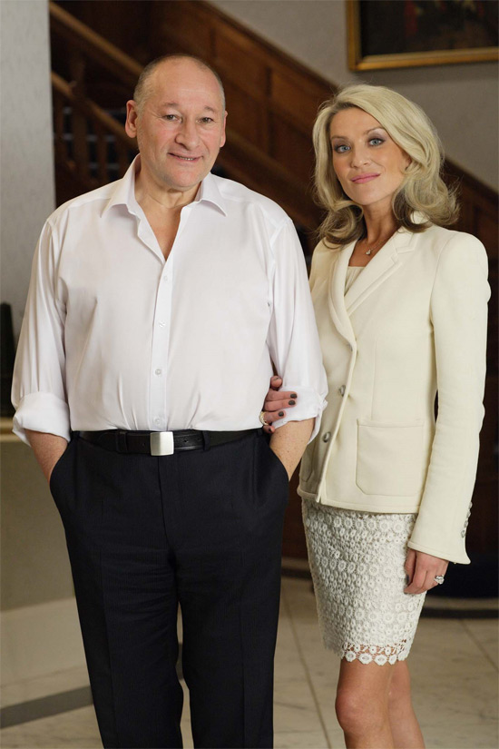 Harry Gold and Vanessa Gold from EastEnders