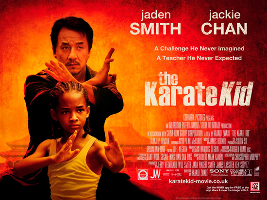 See 'the karate kid' first and for free!