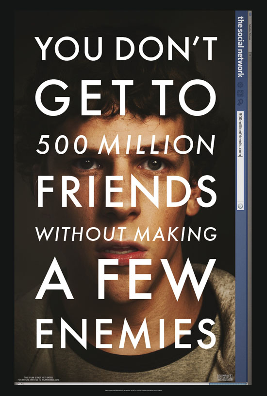 The Social Network, Poster