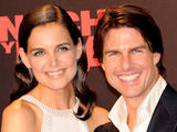 Katie Holmes and Tom Cruise at the Spanish world premiere of 'Knight and Day'