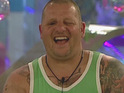 Steve talks to Davina about his time in the Big Brother house.