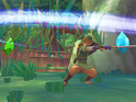 Nintendo explains that the new art style for Zelda: Skyward Sword is to show exaggerated characteristics.
