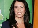 "Gilmore Girls star describes Alexis Bledel and Vincent Kartheiser as ""gorgeous""."