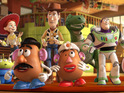 Toy Story 3 is screened at Great Ormond Street Hospital for ill children there.