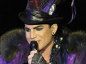 Adam Lambert says that he will not kiss a male performer during his first ever concert in Malaysia.