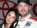 Megan Fox's dad reportedly says that he is thrilled about the actress's recent marriage.