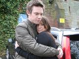 Rhys hugs Suzanne