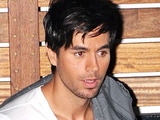 Enrique Iglesias outside ITV studios