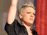 Pink aka Alecia Moore performing live at the RDS Arena in Ireland