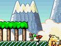 Yoshi's Island 3DS utilises a similar art style to the SNES original.