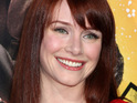 Bryce Dallas Howard says that she is not depressed by her pregnancy weight gain.