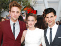 Robert Pattinson, Kristen Stewart and Taylor Lautner become part of Hollywood history.