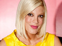 A representative for Tori Spelling slams a report claiming that she is anorexic.