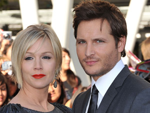Jannie Garth and Peter Facinelli at the Twilight Eclipse US premiere
