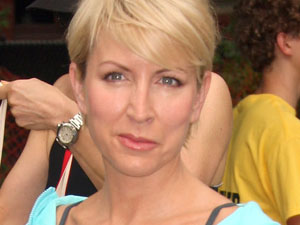 Heather Mills attends the Achilles Hope and Possibility Race at Central Park