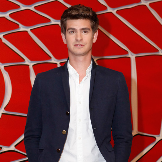 Andrew Garfield is announced as the new Spider-Man / Peter Parker