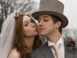 Amy Pond and Rory Williams get married in Doctor Who