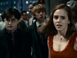 Harry, Ron and Hermione from Harry Potter And The Deathly Hallows