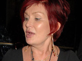 Sharon Osbourne outside The Dorchester Hotel, London