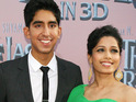 Dev Patel says that even his mother has to correct rumors that he is engaged to girlfriend Freida Pinto.