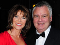 Eamonn Holmes and Ruth Langsford get married in a low-key wedding in Hampshire.