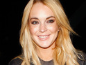 Lindsay Lohan records a video for Funny Or Die, making fun of her financial difficulties.
