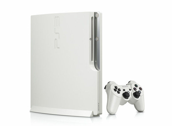 PlayStation 3 Slim White