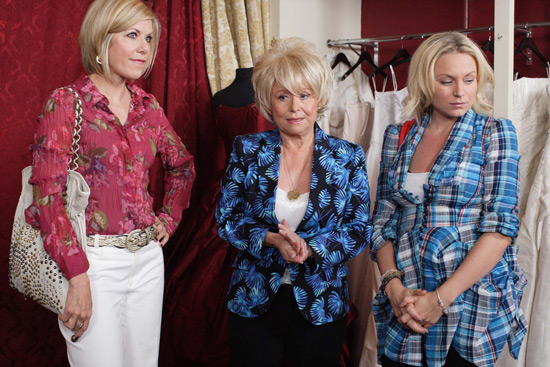 EastEnders, Glenda, Peggy and Roxy
