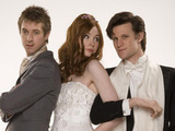 Who Wedding - Rory, Amy and The Doctor
