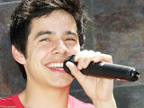 'American Idol' runner-up David Archuleta performing at the Deseret Book Store in Las Vegas