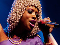 Kelis records acoustic versions of tracks from her new album.