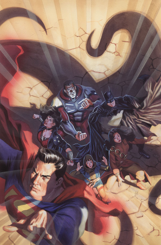 JLA / The 99 team up