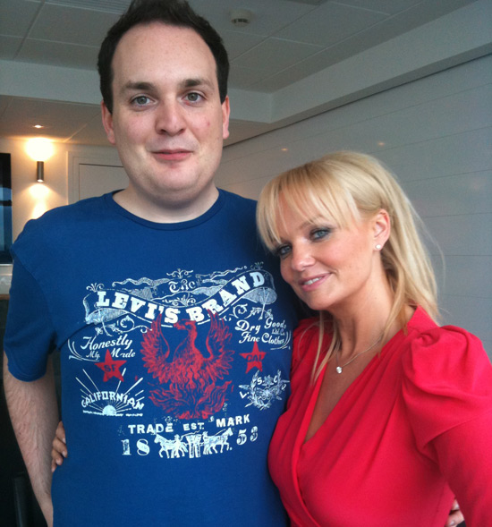 Alex and Emma Bunton