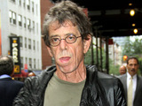 Lou Reed outside 