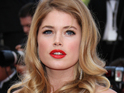 Victoria's Secret model Doutzen Kroes reportedly announces that she is pregnant.