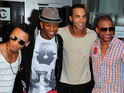JLS are to release 'Ay Mama', which features Shontelle, as their next single in America.