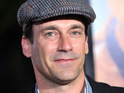 Jon Hamm jokes that his imaginary love scene with Ben Affleck in The Town was salacious.