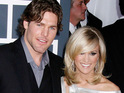 Mike Fisher says that Carrie Underwood looked stunning at their recent wedding.
