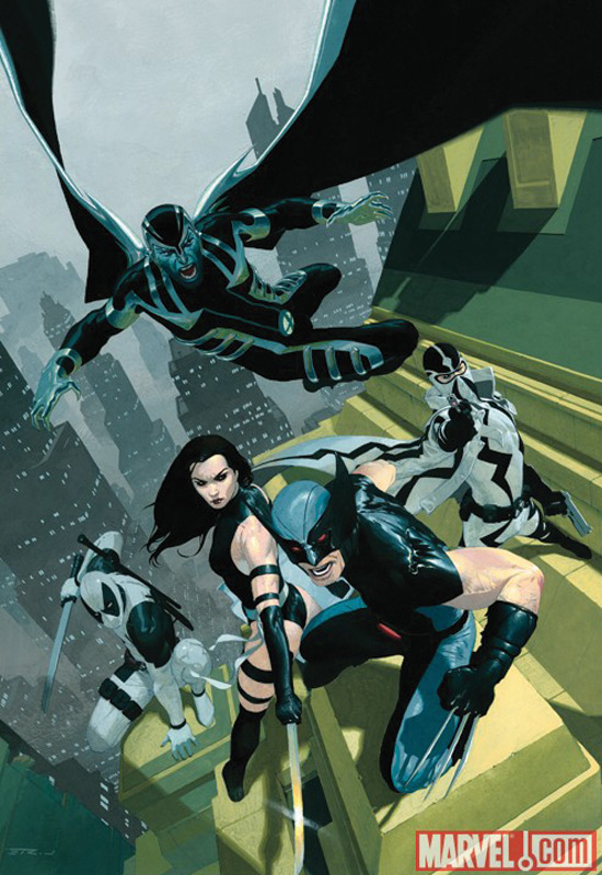New X-Force Cover from Marvel Comics