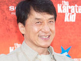 Jackie Chan attending the Madrid premiere of 'The Karate Kid'