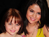 Joey Kings and Selena Gomez attending a meet and greet promotion for their new upcoming film 'Ramona and Beezus' at a Borders store in Florida