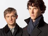 Sherlock Holmes and Dr John Watson in Sherlock