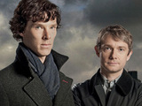 Sherlock Holmes and Dr John Watson in Sherlock