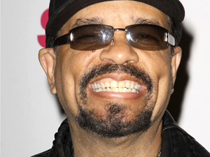 Rapper Ice-T