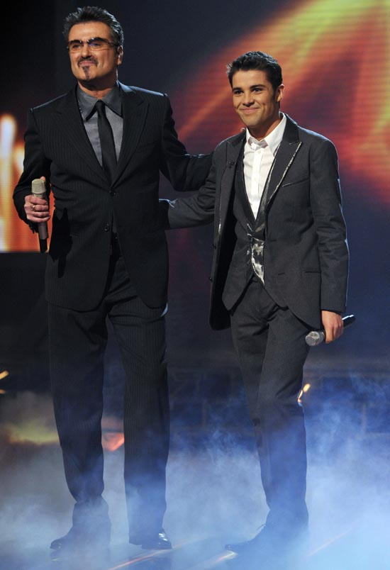 Joe McElderry, George Michael