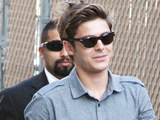 Zac Efron outside the 'Jimmy Kimmel Live' studios