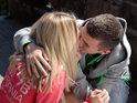 Bart kisses Jasmine as they grow closer in tonight's episode of Hollyoaks.