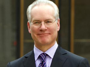 Tim Gunn presenting Project Runway