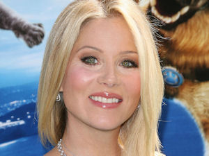 Christina Applegate at the Los Angeles premiere of Cats & Dogs: The Revenge of Kitty Galore